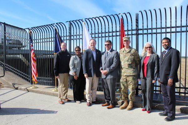 Bonnet Carre spillway landmark designation ceremony